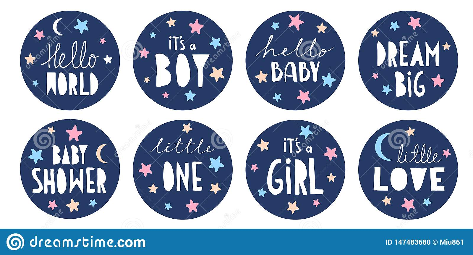 Cake Topper Figure Boy Blue Baby Shower Decorationsparty