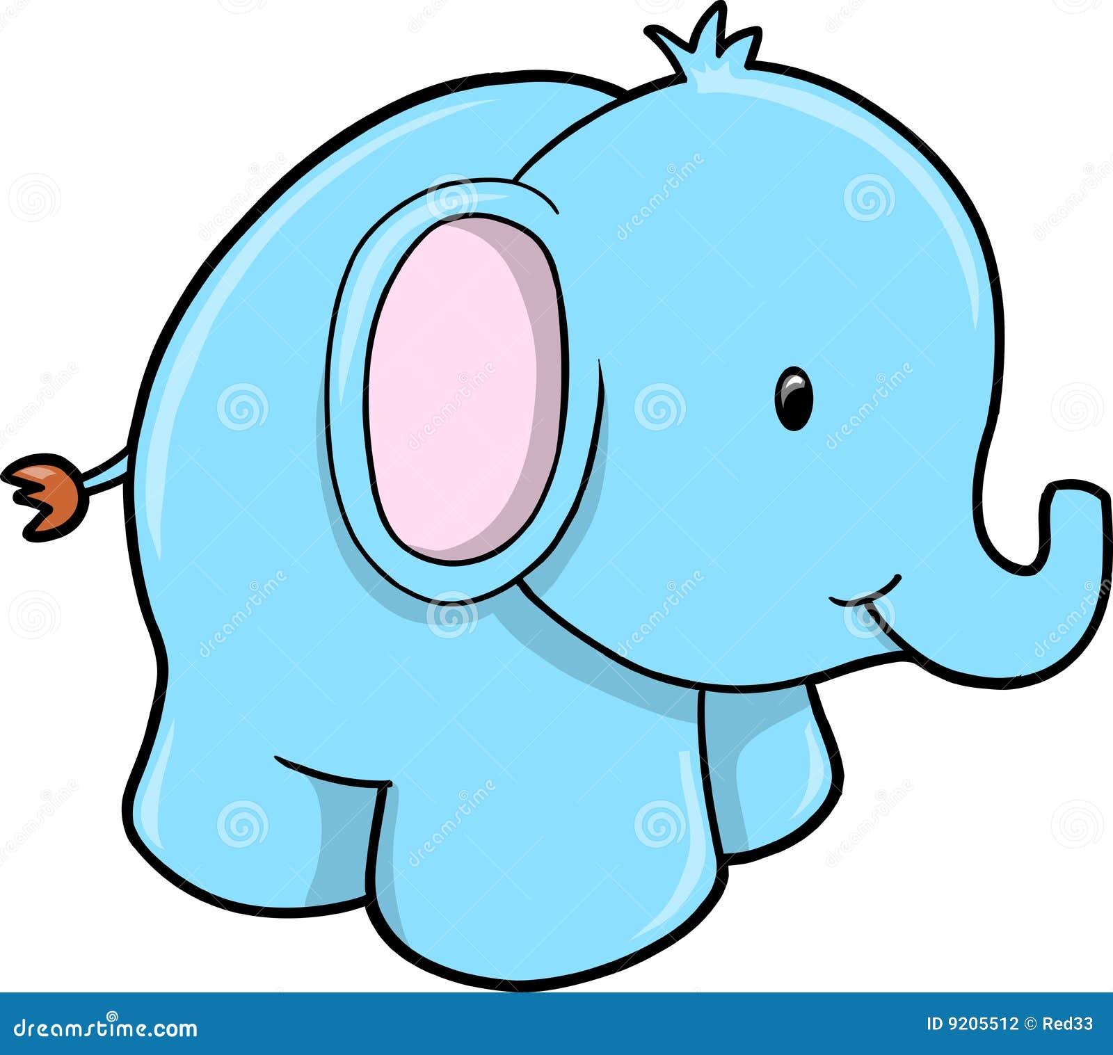 Baby boy shower elephant clip art