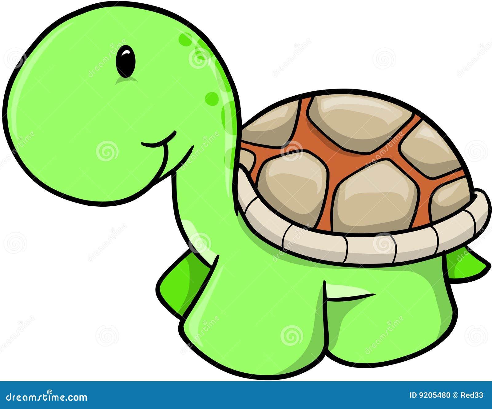 Cute Safari Turtle Vector Stock Photo - Image: 9205480