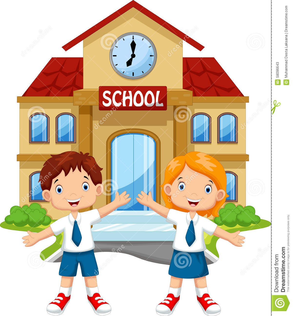 cute school kids cartoon - Cartoon Pictures For Kids