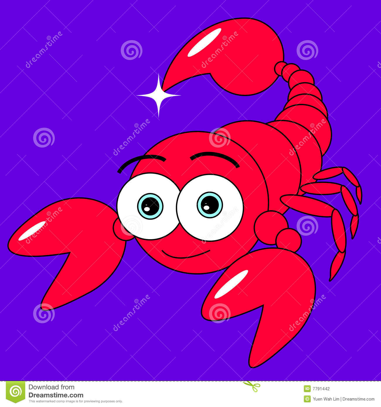 Cute Scorpion Stock Photography - Image: 7791442