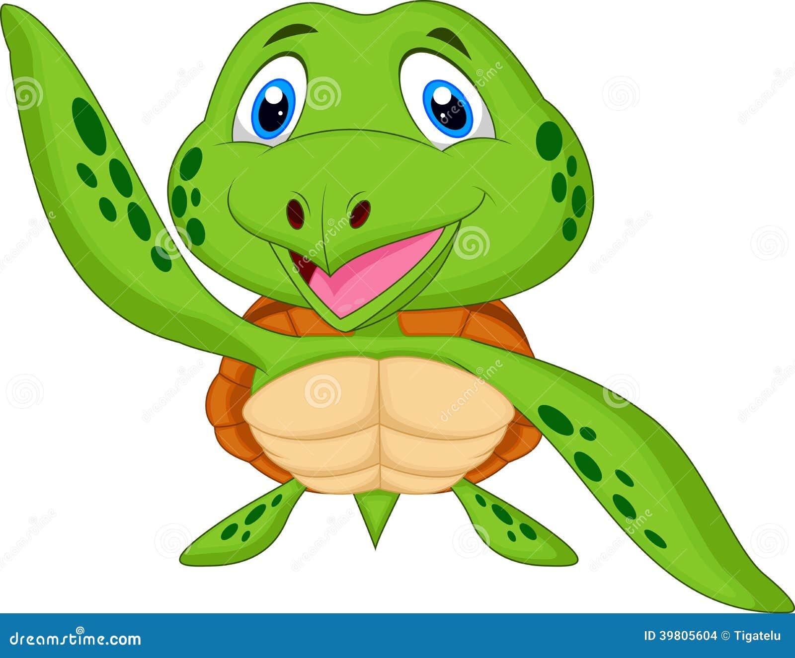 Cute animated sea turtles - photo#12