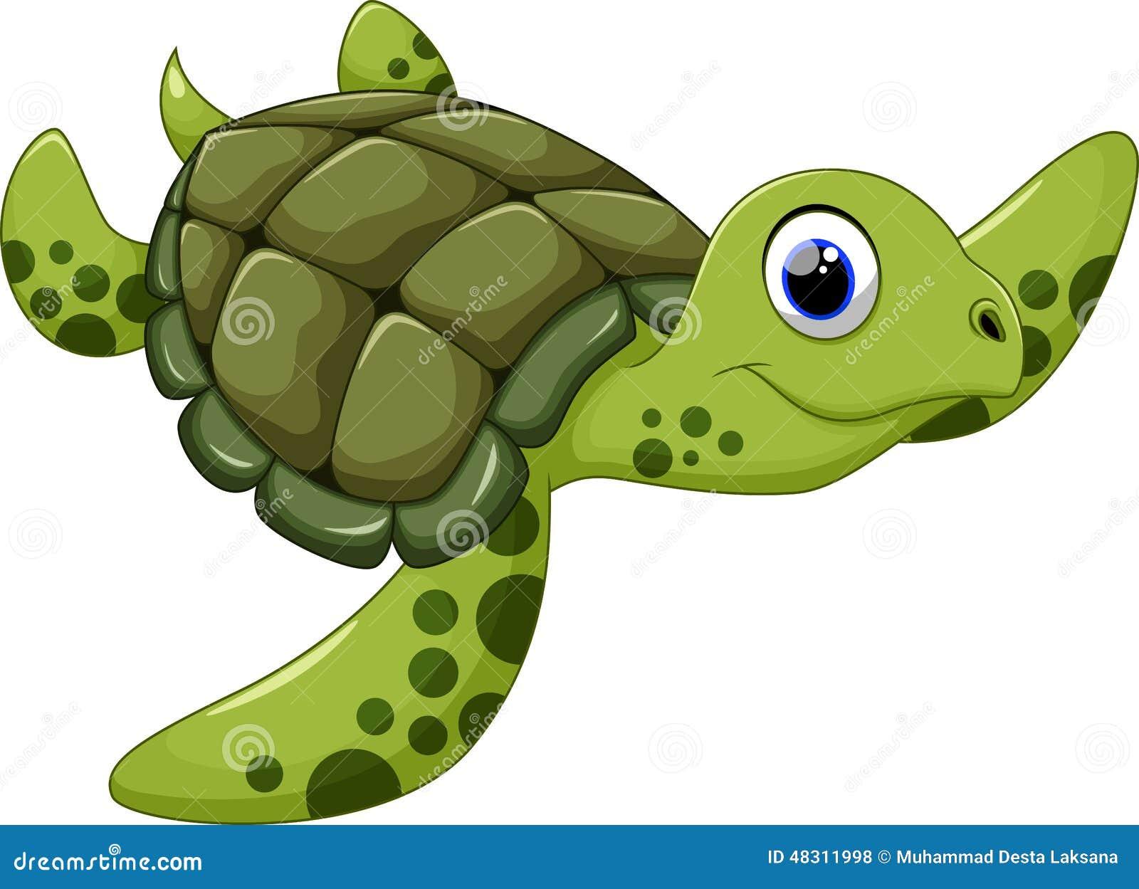 Cute animated sea turtles - photo#13