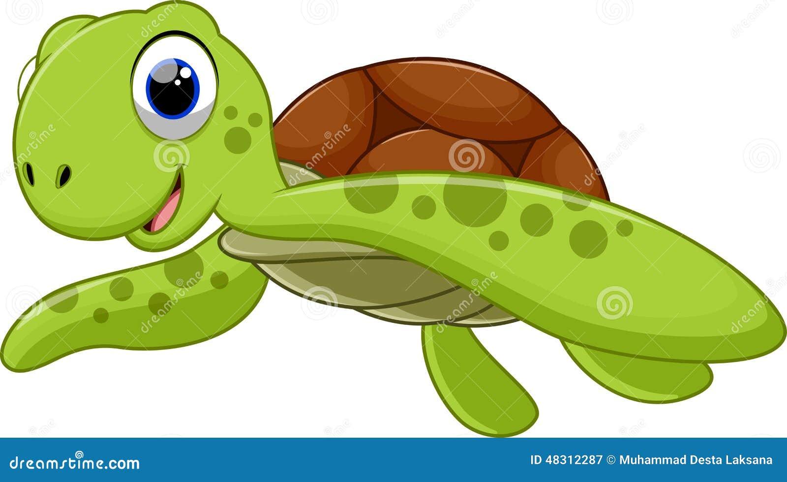Cute animated sea turtles - photo#19