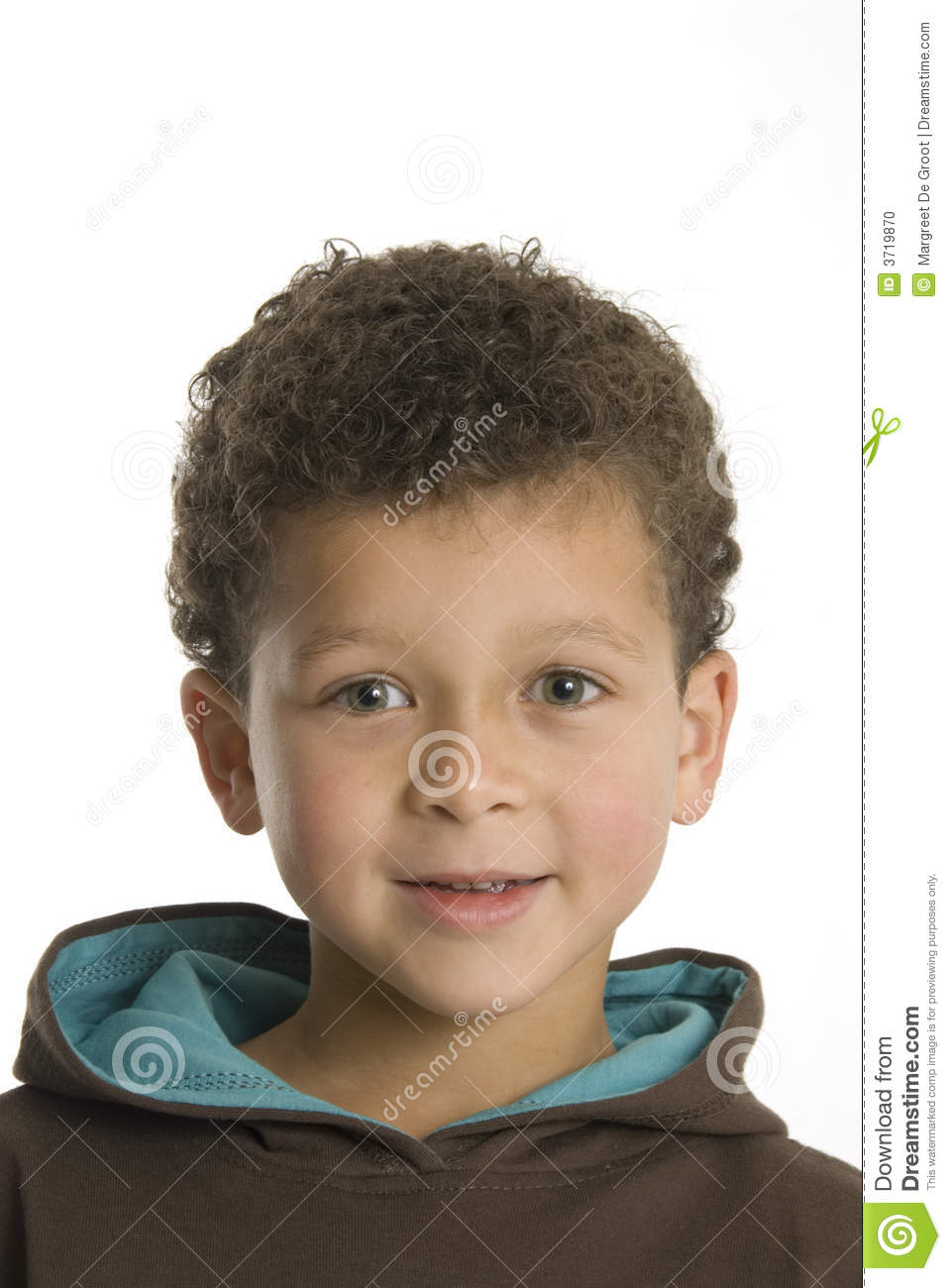 Cute Six Year Old Boy Stock Photo - Image: 3719870