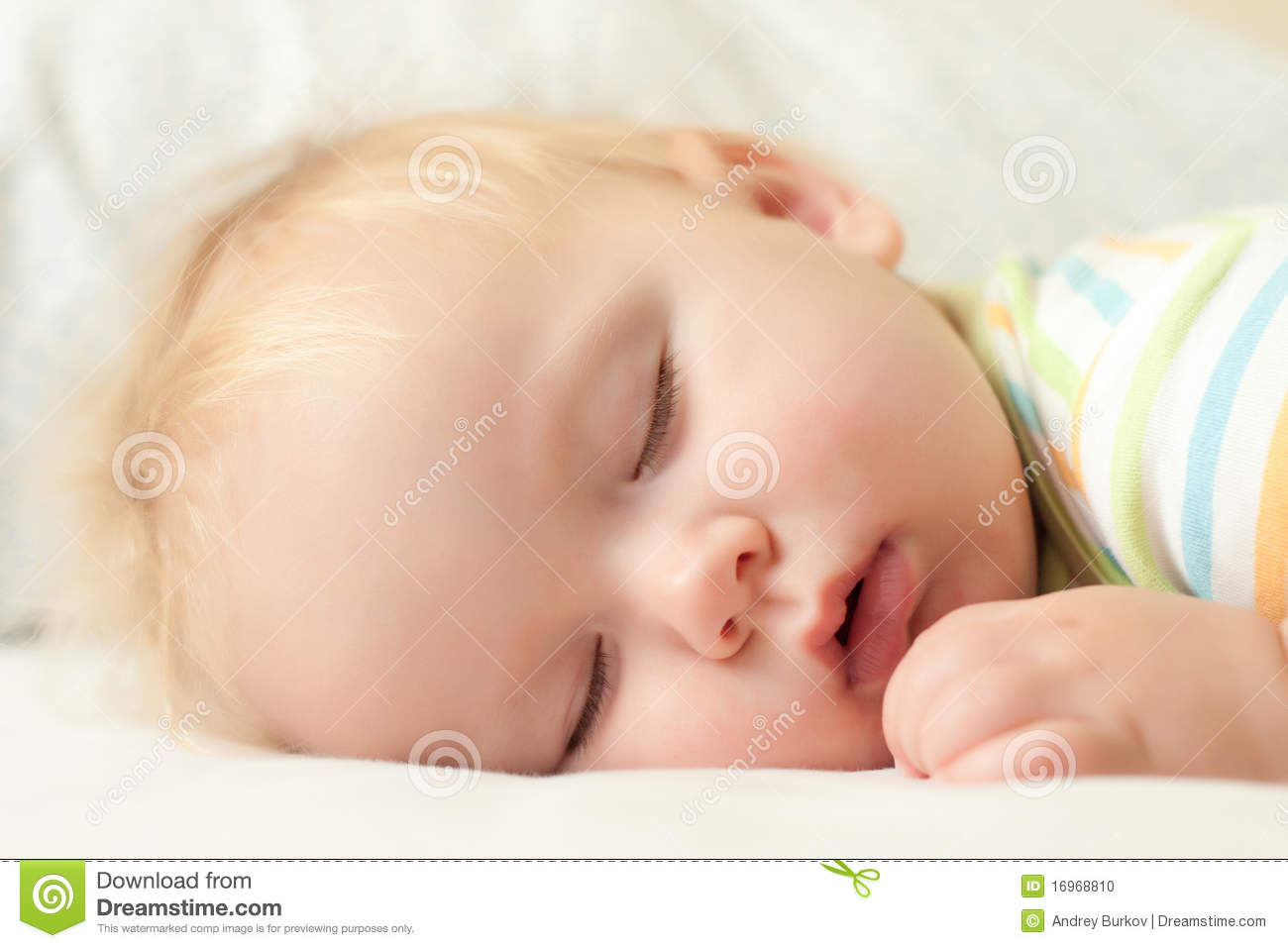 Cute Babies Sleeping Images: Cute Sleeping Baby Stock Photo