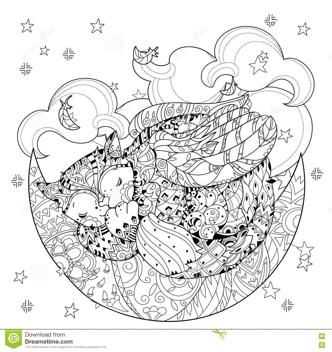 half flower coloring pages - photo #20