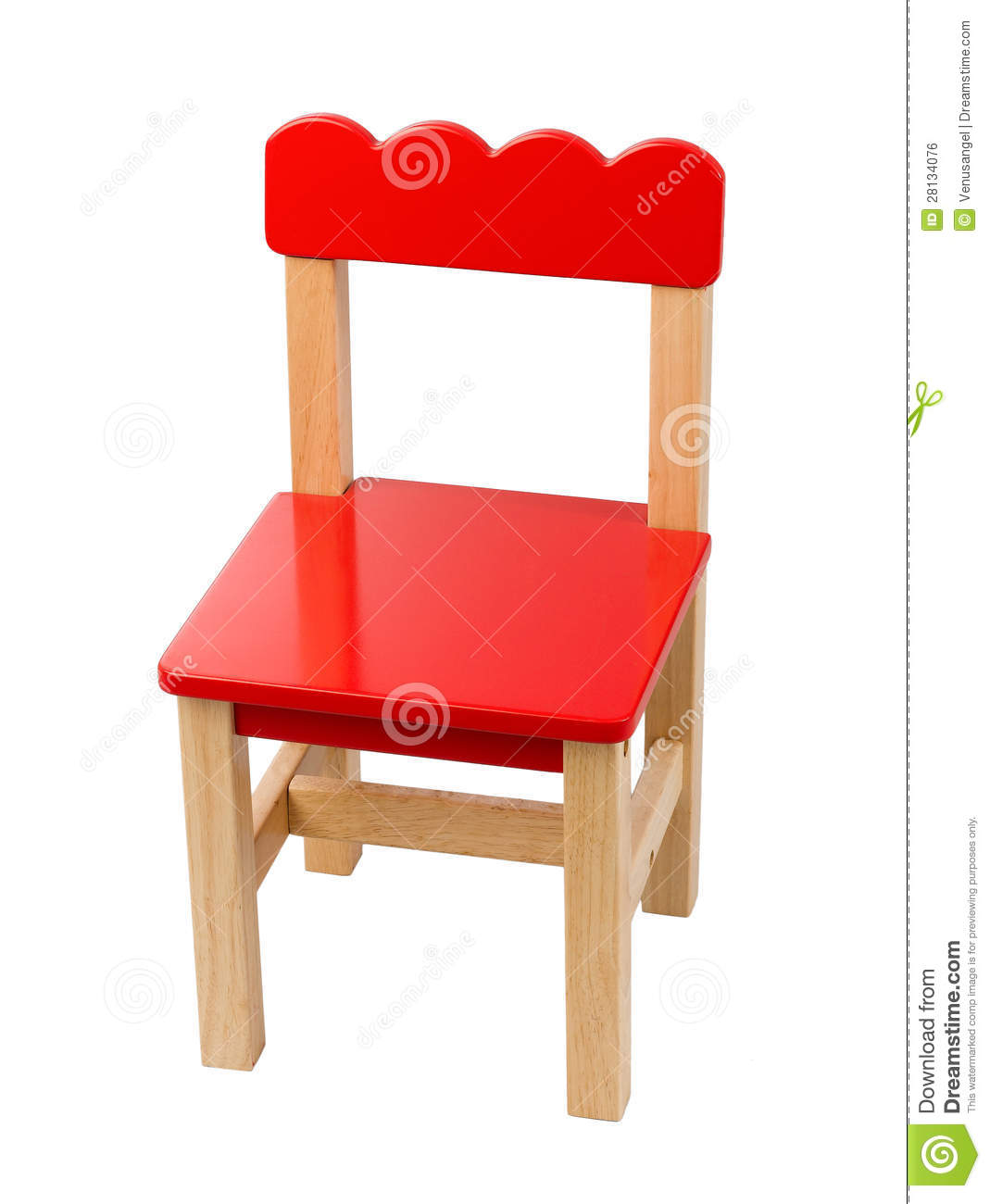 Cute small chair royalty free stock image image 28134076 for Small cute chairs
