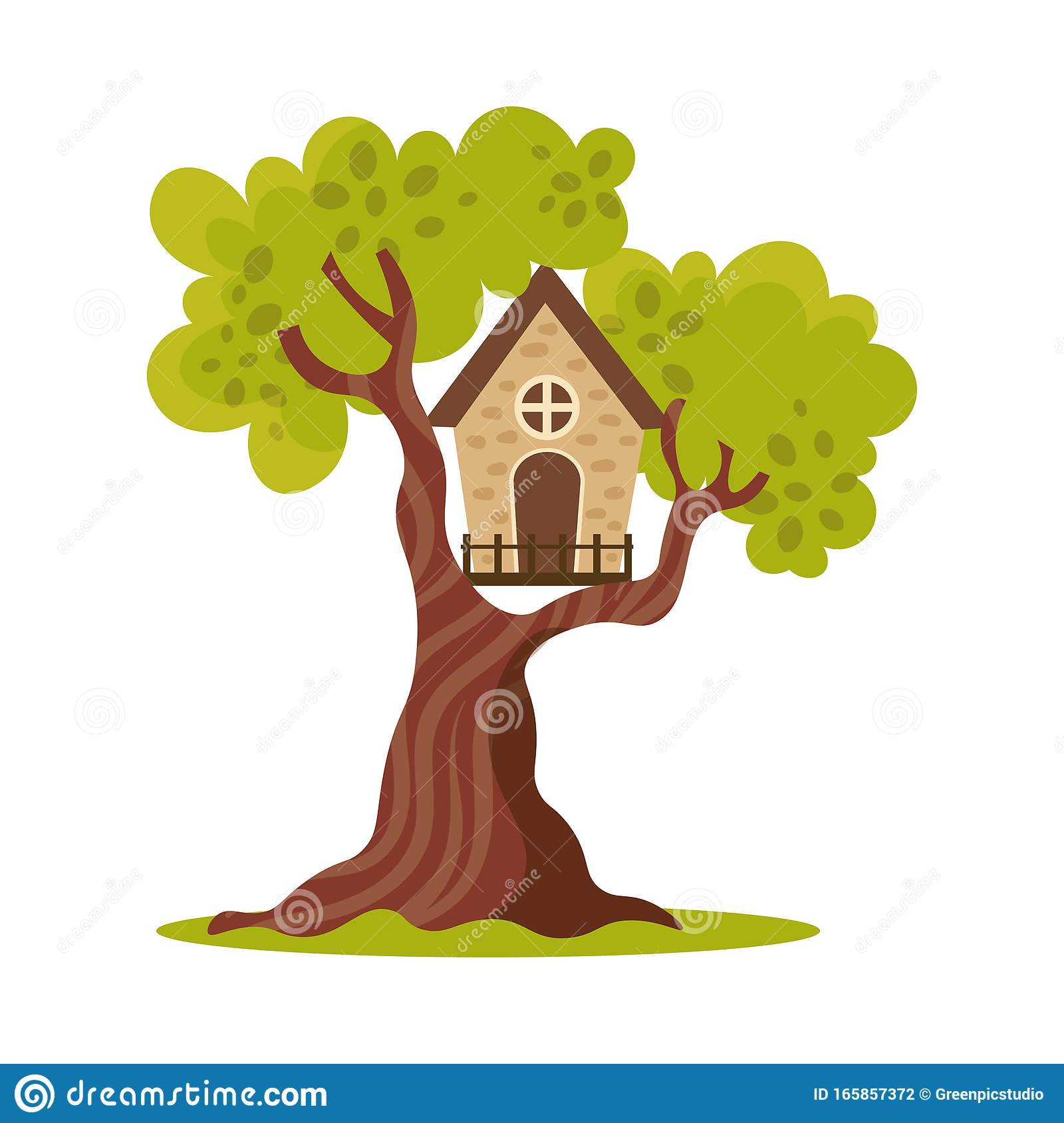 Cartoon Tree House Background / Pikbest has 2146 tree house design images templates for free.