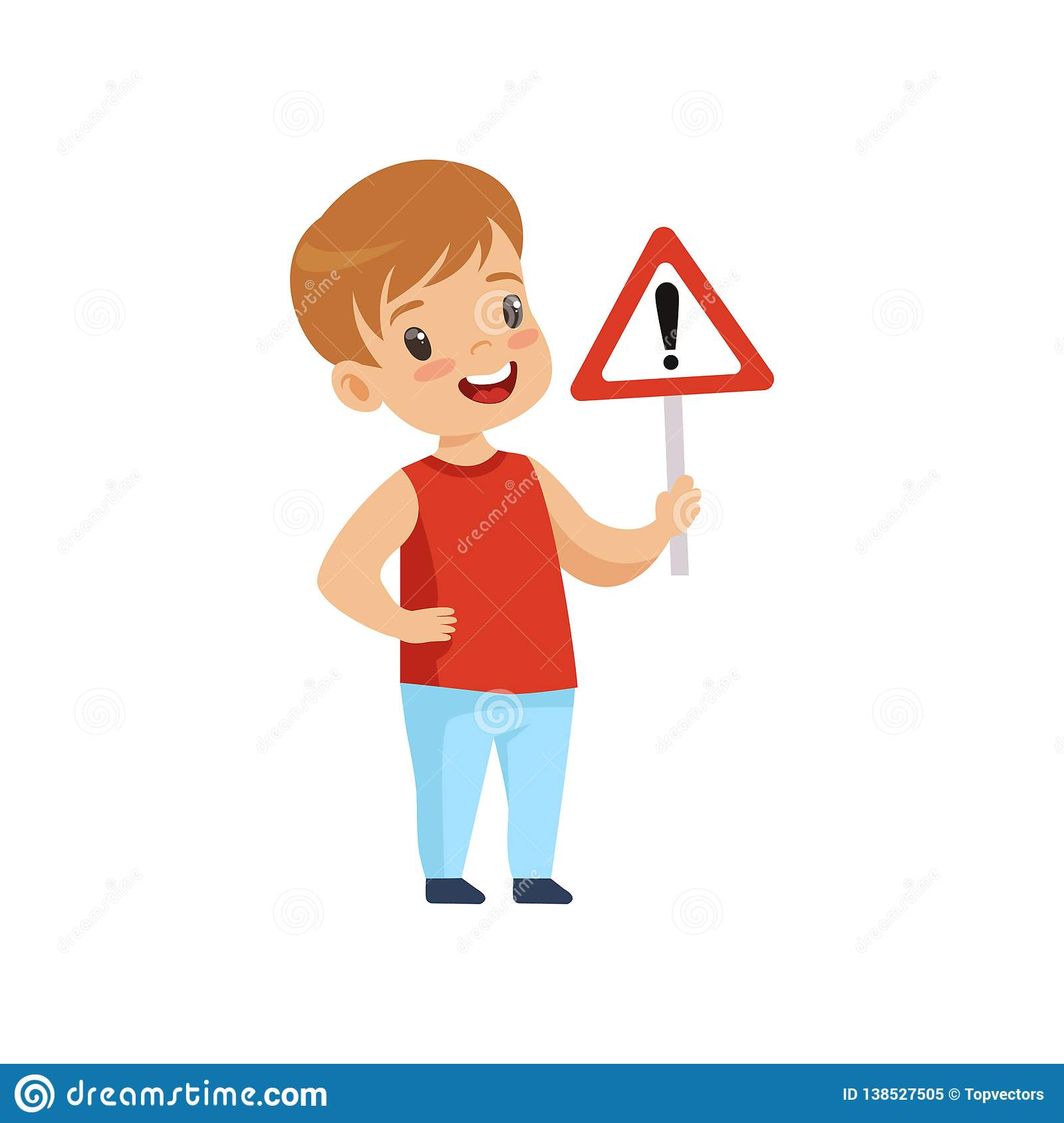 Cute Smiling Boys And Girls Child Learning Rules Of Road Set,.. Royalty  Free Cliparts, Vectors, And Stock Illustration. Image 116389299.