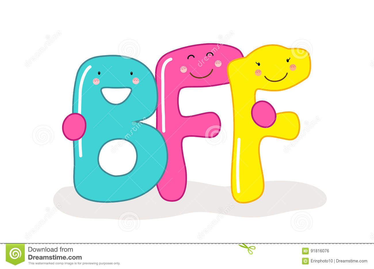 bff stock illustrations 182 bff stock illustrations vectors rh dreamstime com baby clipart black and white bff birthday clipart
