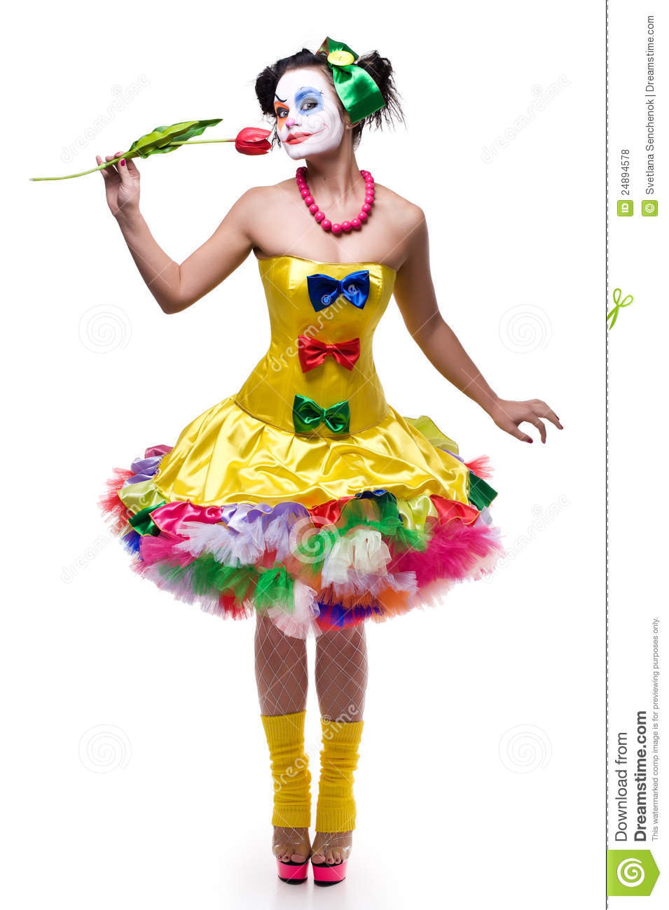 Clown costume cute