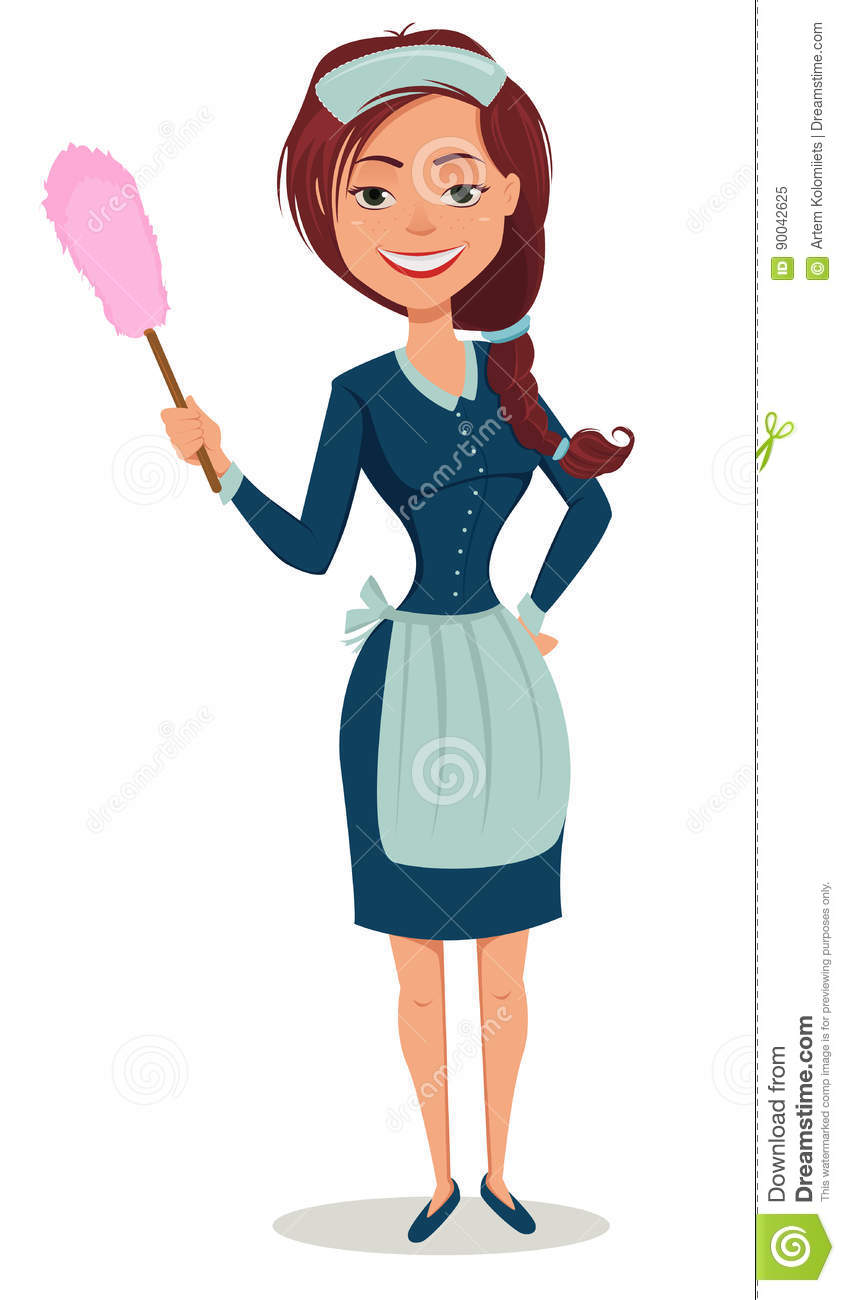 French Maid Duster - Vector & Photo (Free Trial)   Bigstock