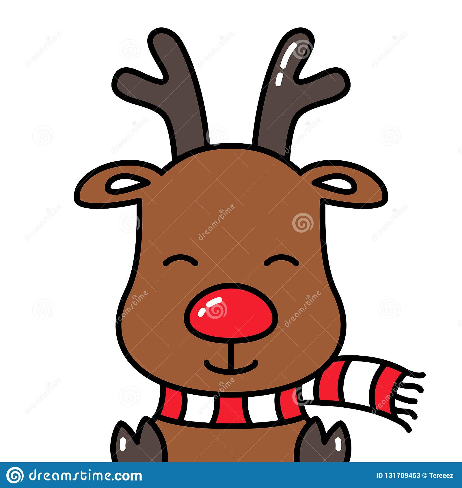 Rudolph Head Stock Illustrations 259 Rudolph Head Stock Illustrations Vectors Clipart Dreamstime