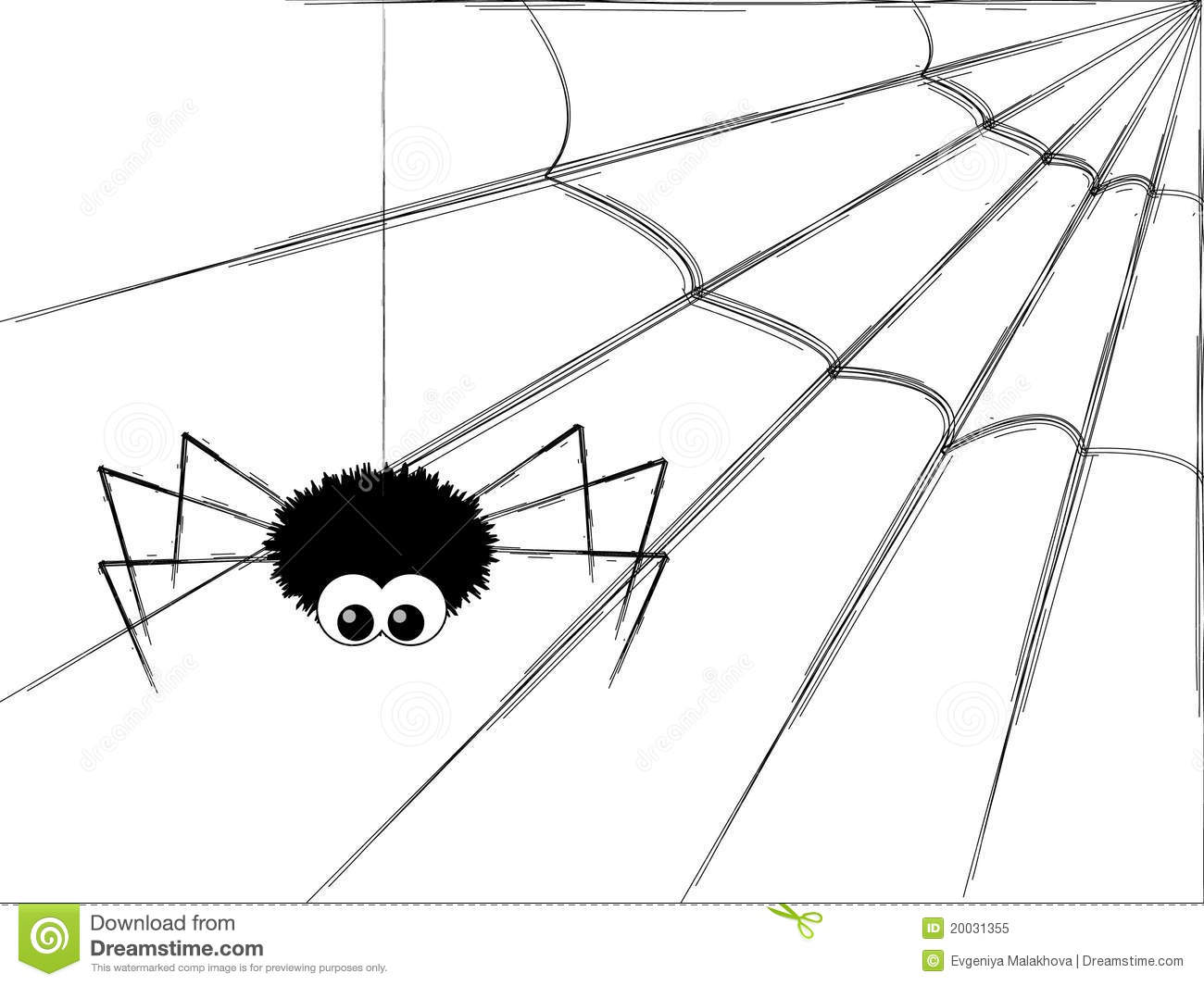 Cute Spider Royalty Free Stock Photo Image 20031355