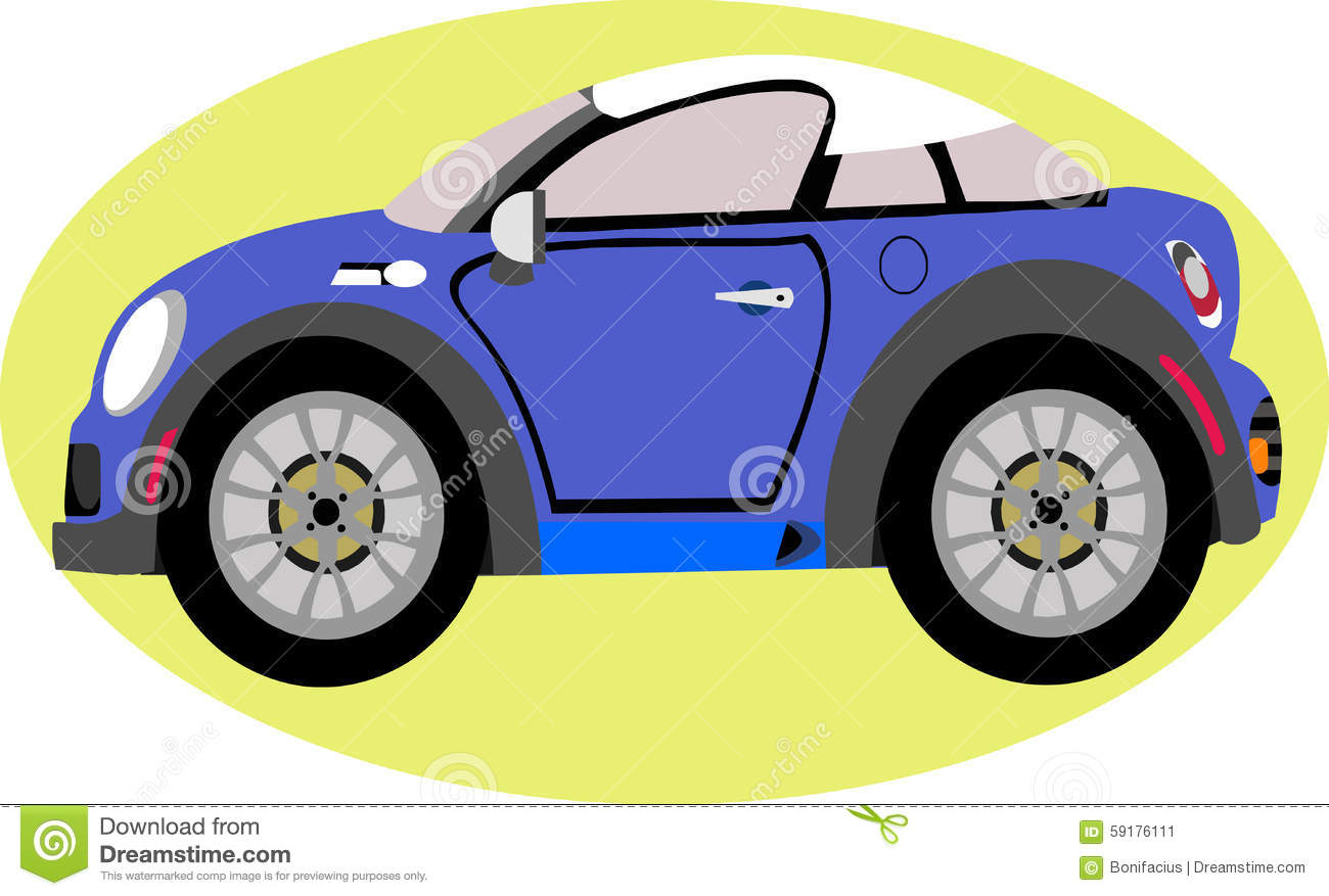 Cute Sport Car Cartoon Stock Vector Illustration Of Engine 59176111