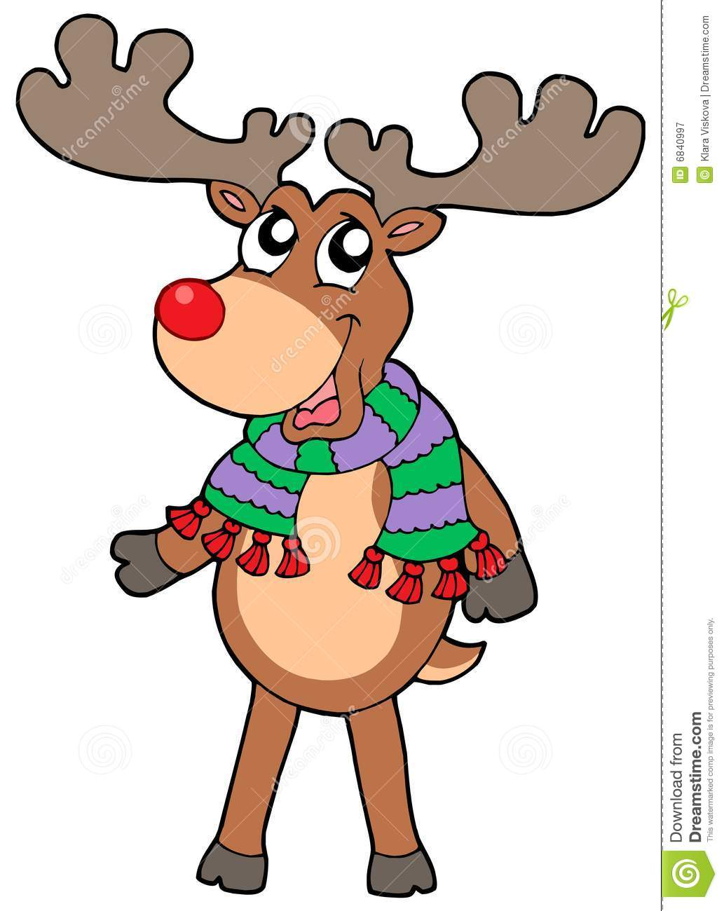 Baby Boy Moose Clipart Cute Standing Christma...