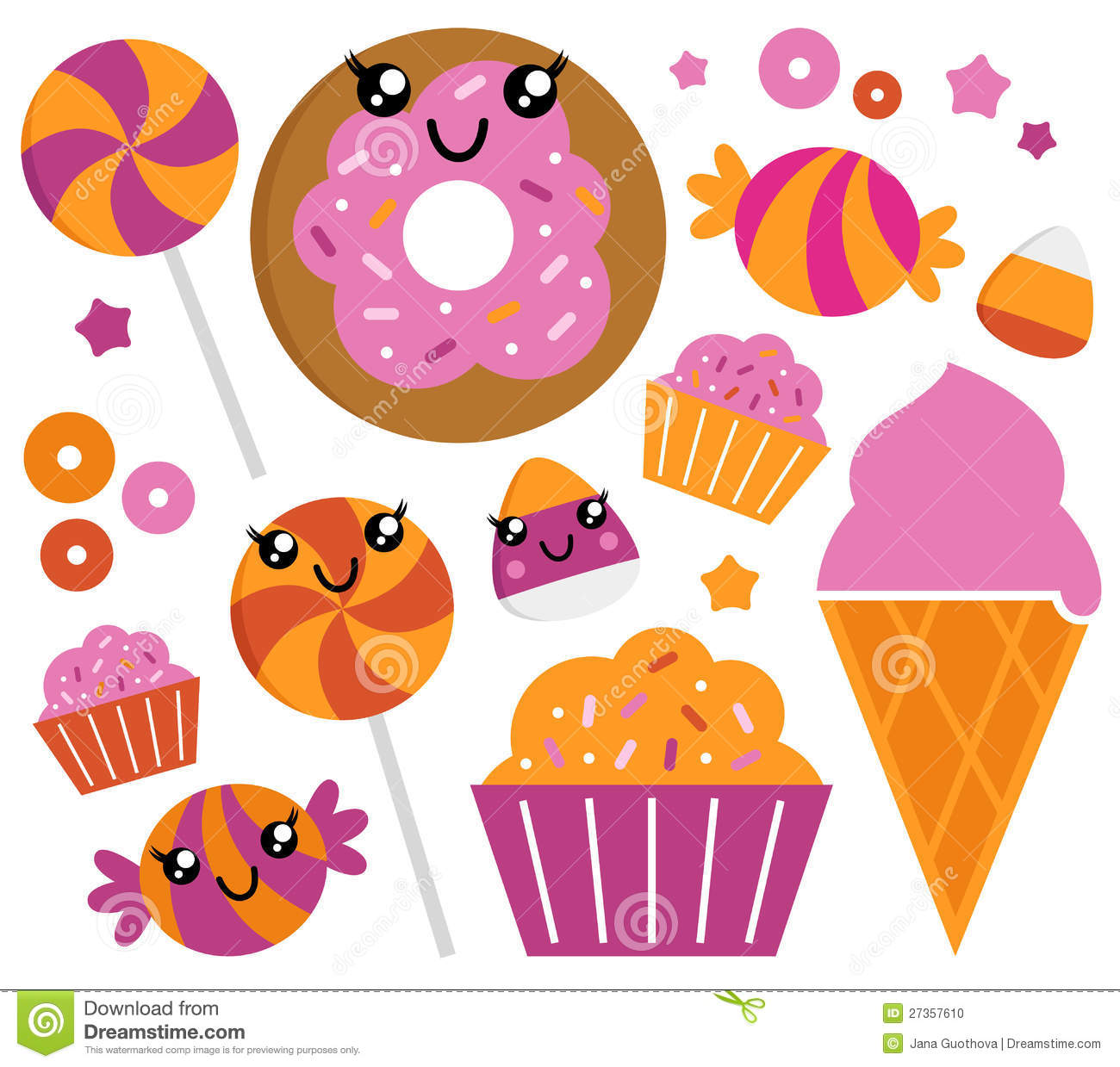 Cute sugar candy set stock vector illustration of cookie 27357610 cute sugar candy set sciox Gallery