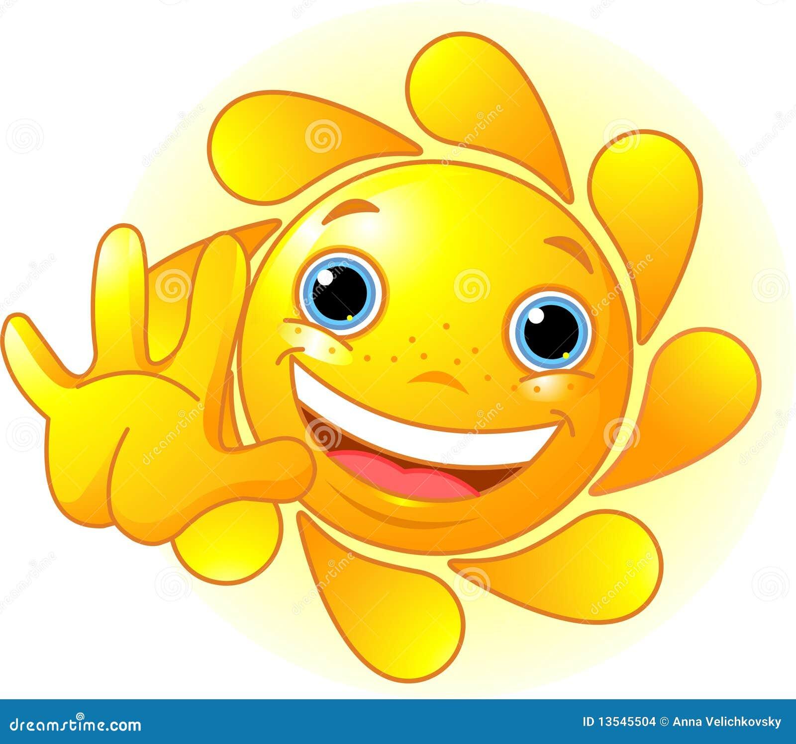 солнце привет картинки