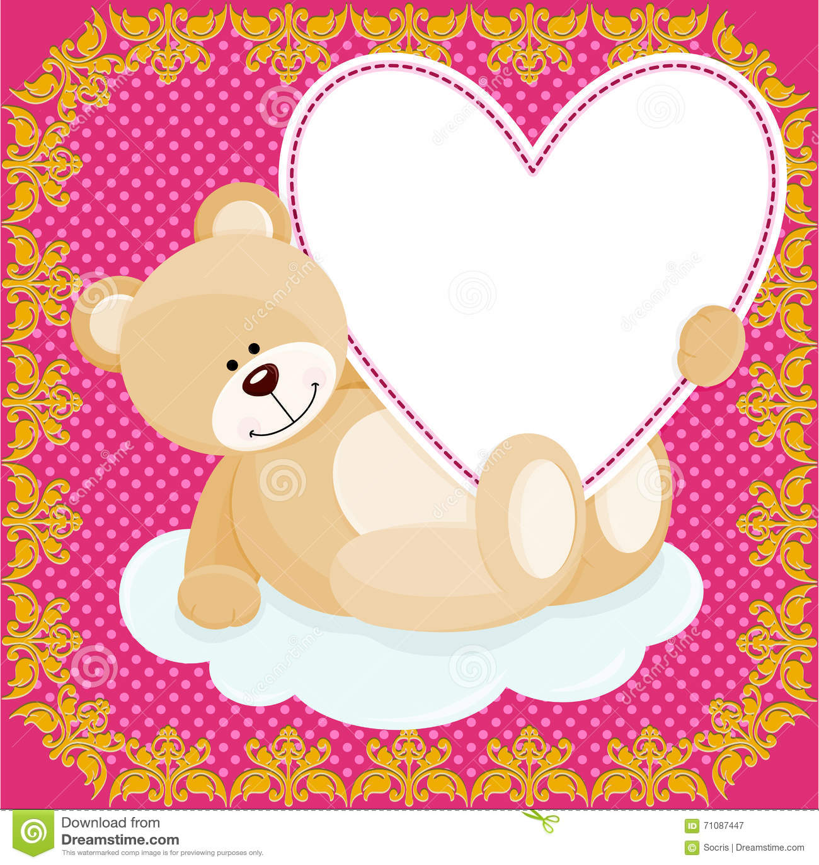 Fantástico Teddy Bear Picture Frame Ideas - Ideas Personalizadas de ...