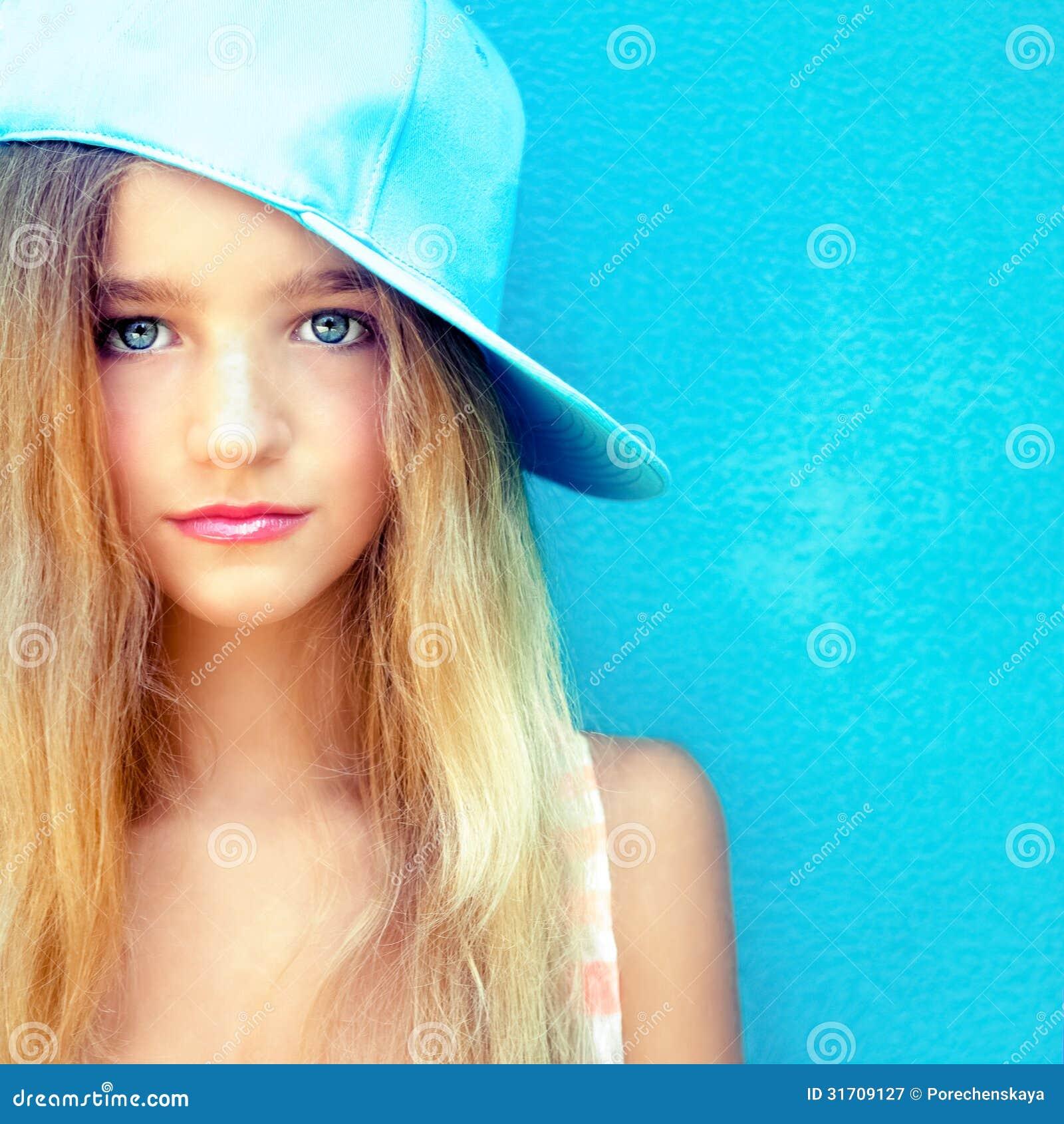Cute teen girl portrait