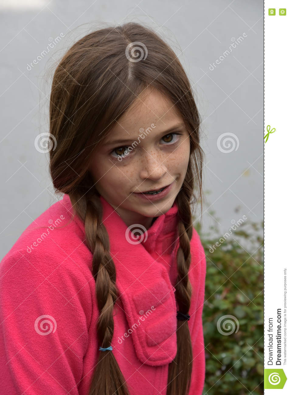 Young pigtail girls — pic 2