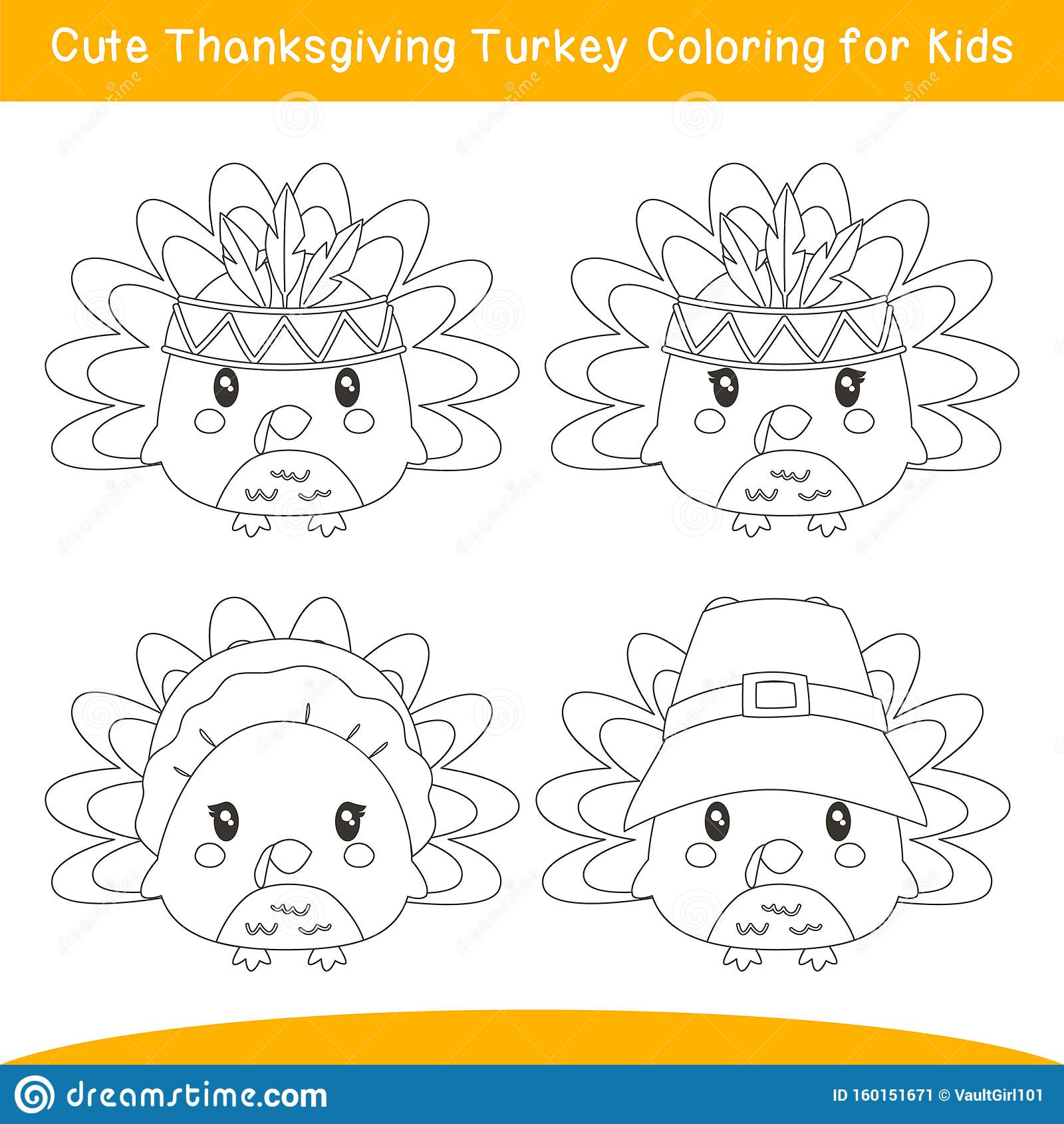 Incridible Cute Thanksgiving For Kids Coloring Pages Printable | 1689x1600