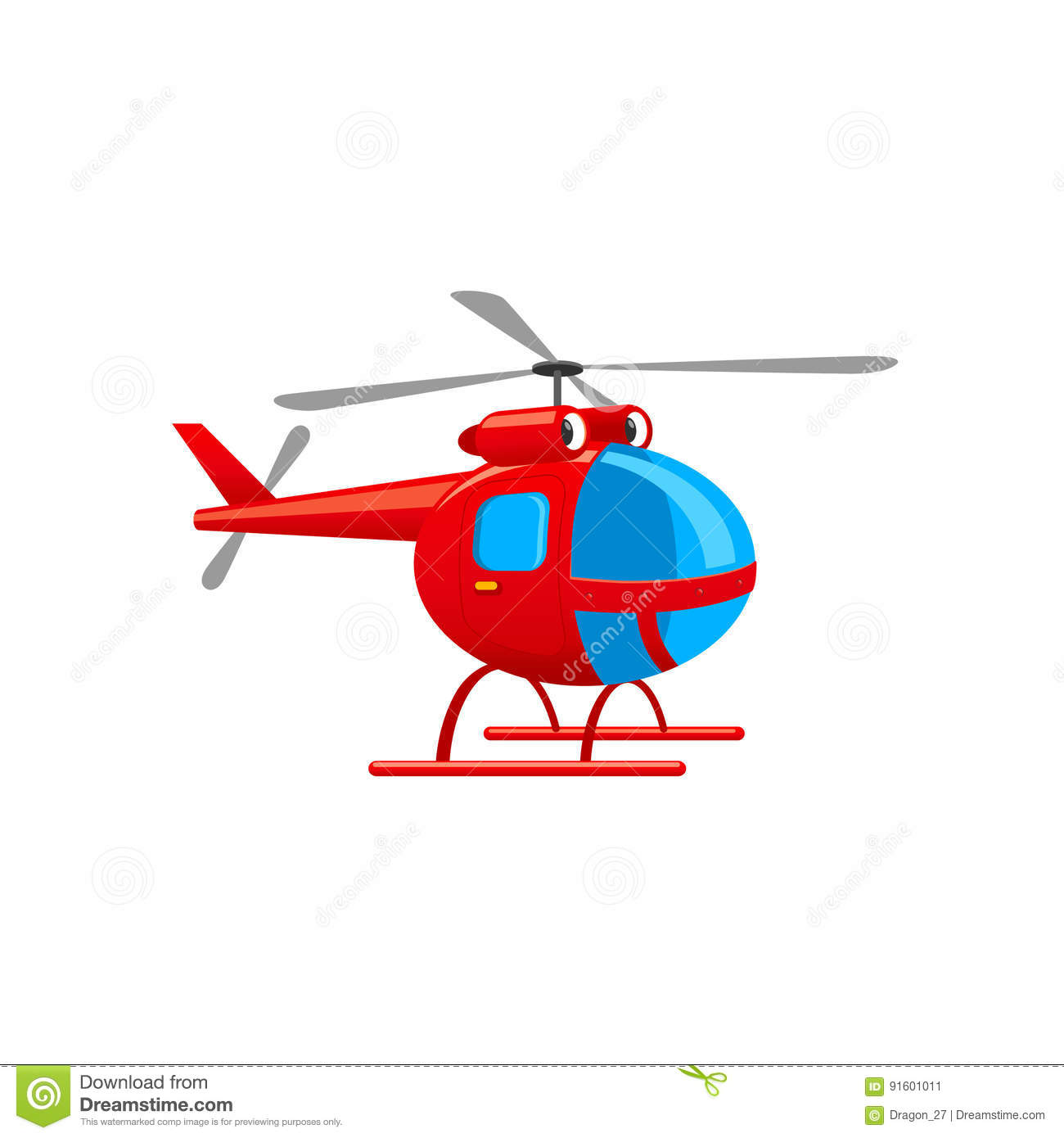 cute toy helicopter vector illustration stock vector illustration of flying play 91601011 dreamstime com