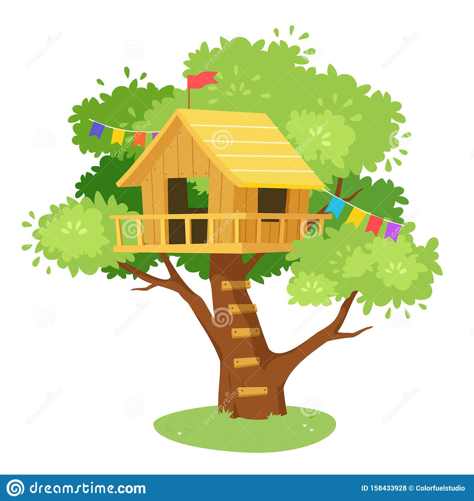Cartoon Tree House Drawing / Get the kids creative this term, contact matt on matt@treehousedrawing.com.