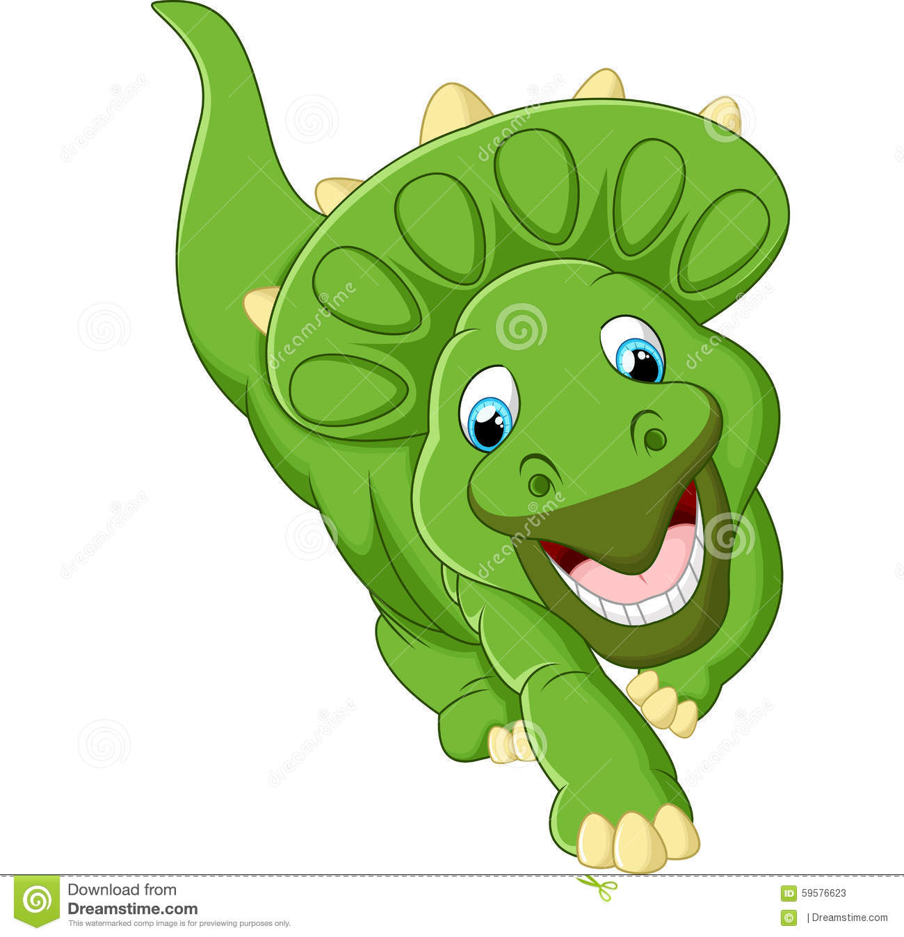 cute cartoon triceratops bing images