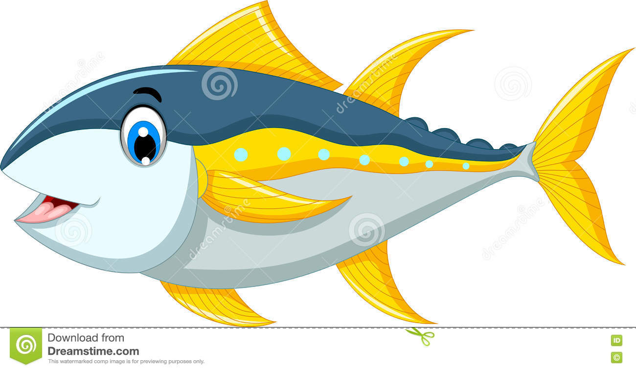 cute tuna fish cartoon stock illustration illustration of cute fish clipart black and white funny fish clipart