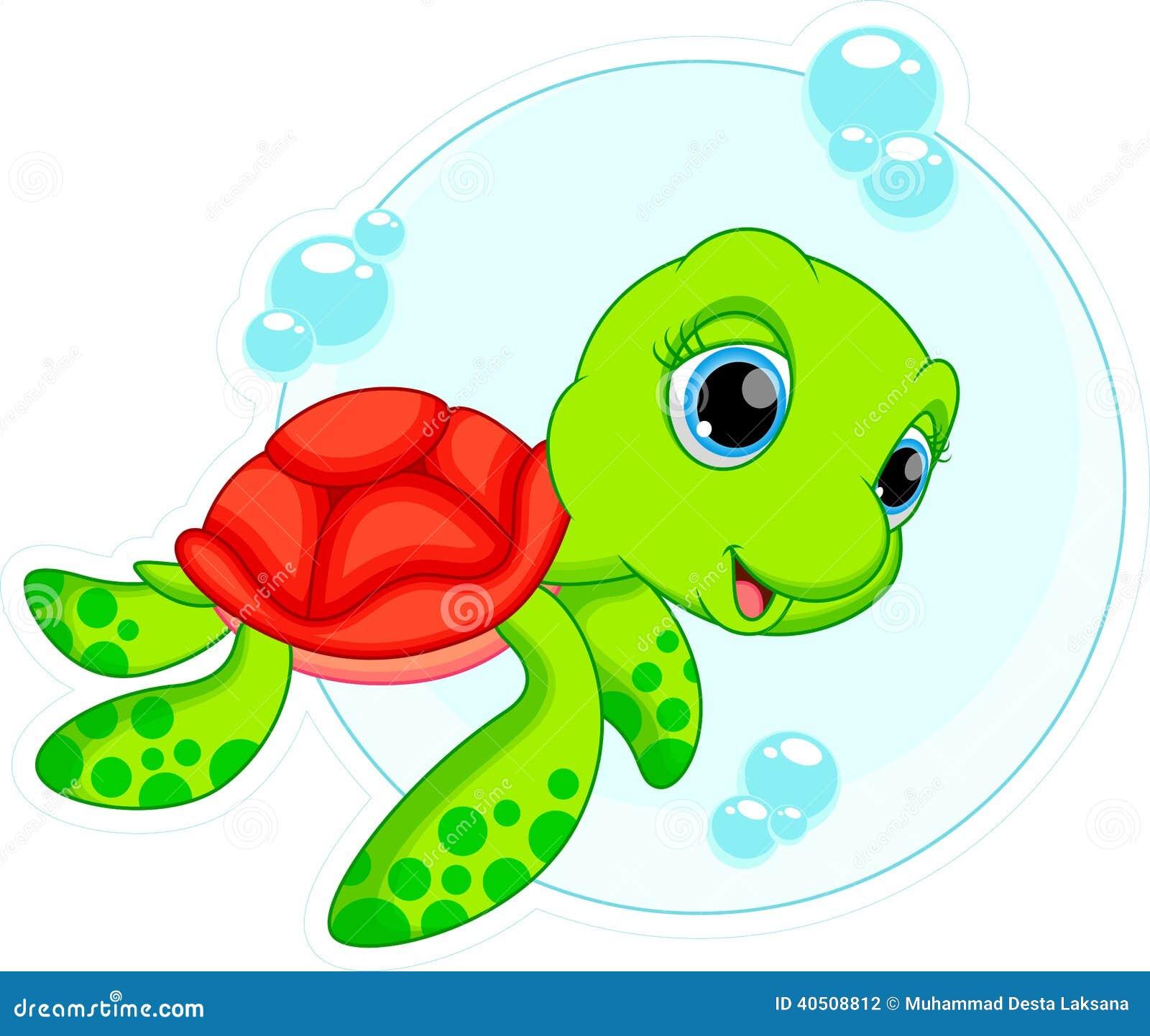 Cute animated sea turtles - photo#11