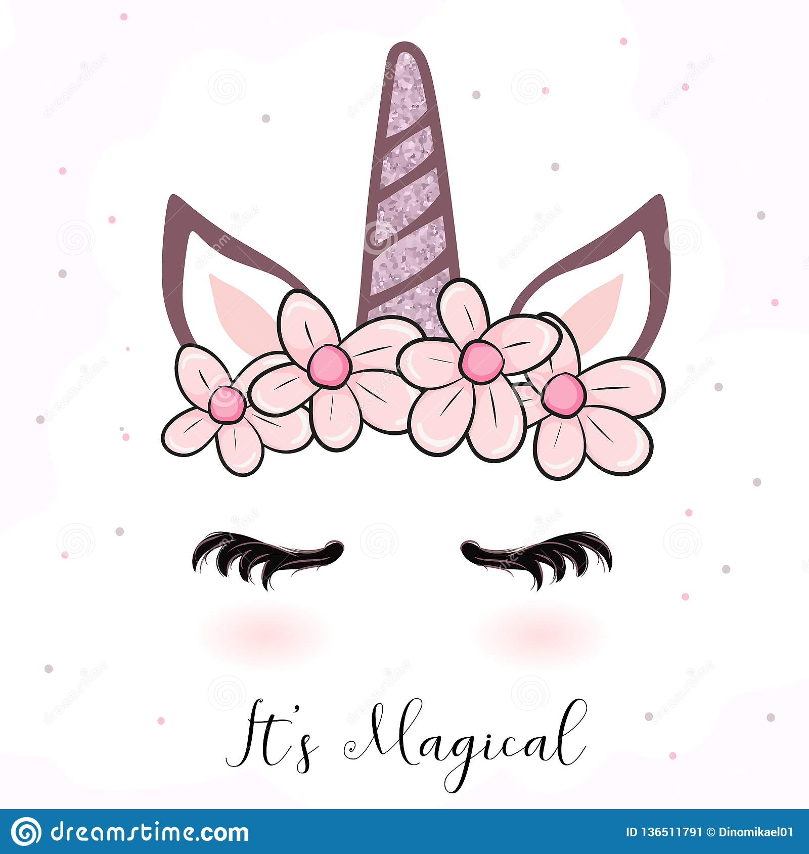 Cute Unicorn Cartoon With Flower Crown Stock Vector Illustration Of Floral Cute 136511791 Cat heads with flower crown cute cats in floral vector. https www dreamstime com cute unicorn cartoon flower crown cute unicorn cartoon flower crown perfect children can be used as image136511791