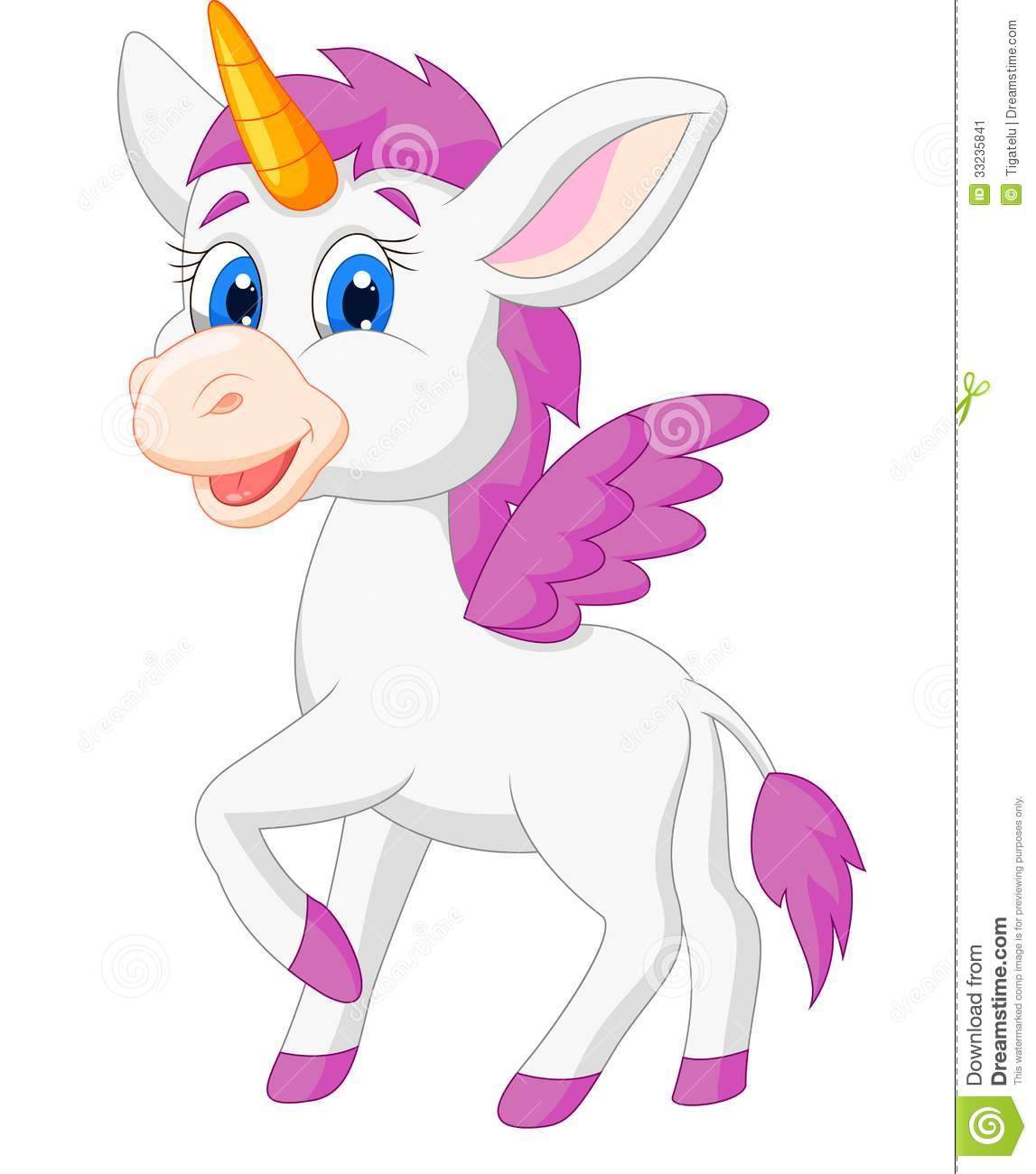 Cute Baby Unicorn Cartoon | www.pixshark.com - Images ...