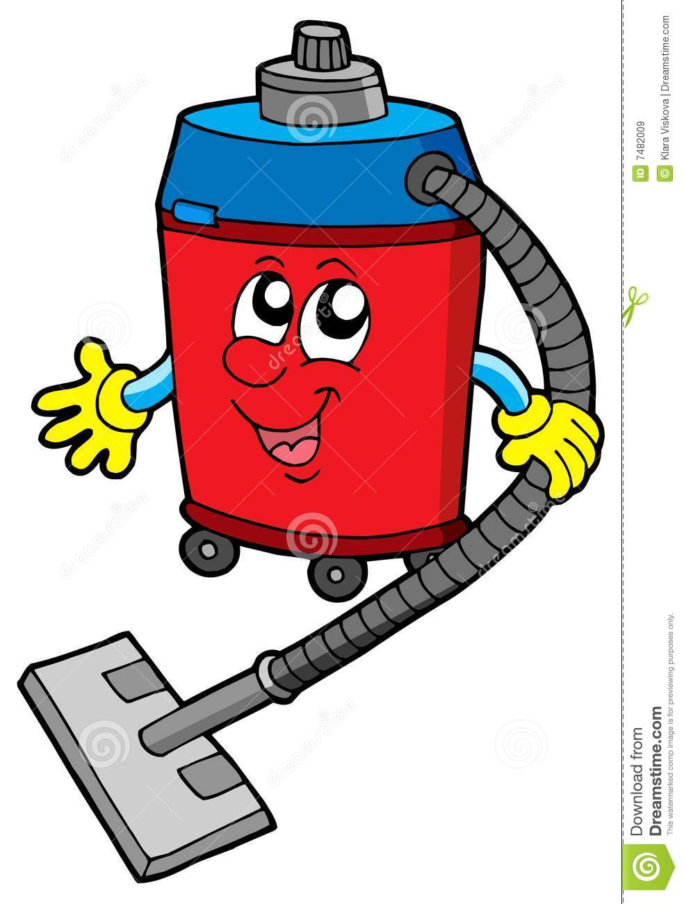 Vacuum cleaner clipart vacuum cleaner clip art - Cleaner Cute Illustration Vacuum