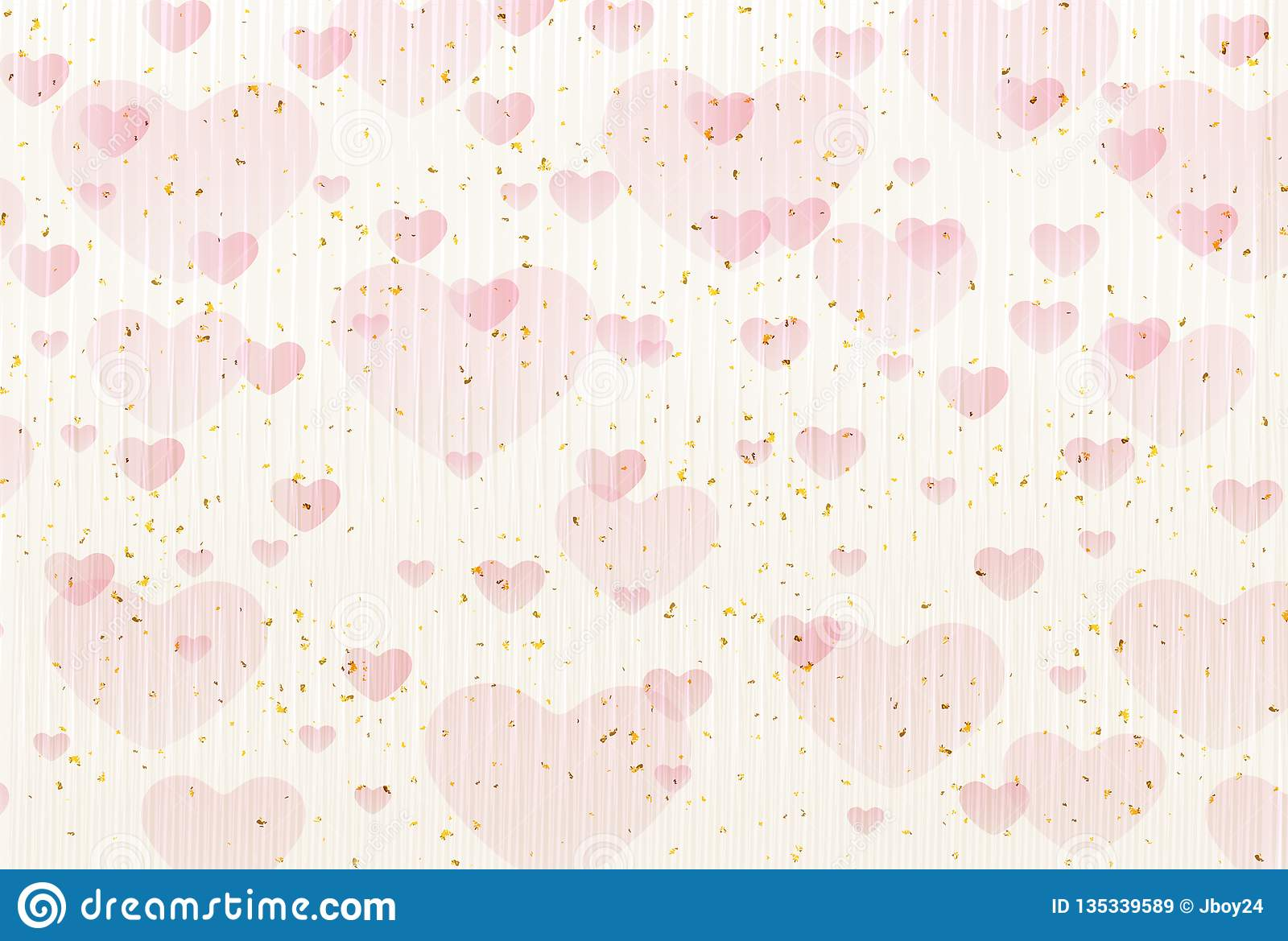 Cute illustration material of Valentine`s Day