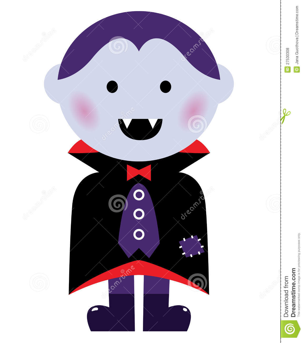 Cute Vampire Boy Royalty Free Stock Photos - Image: 27530308