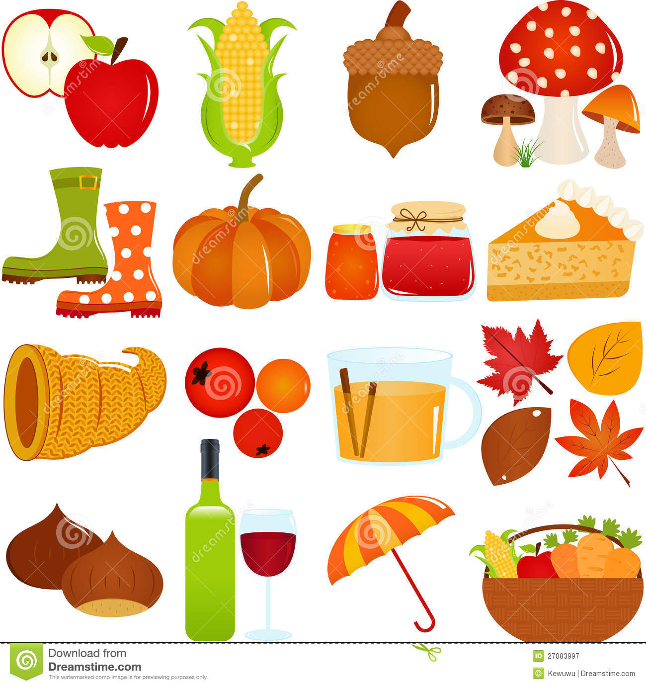 cute vector icons autumn   fall theme royalty free stock photography image 27083997 acorn clip art free printable acorn clip art free