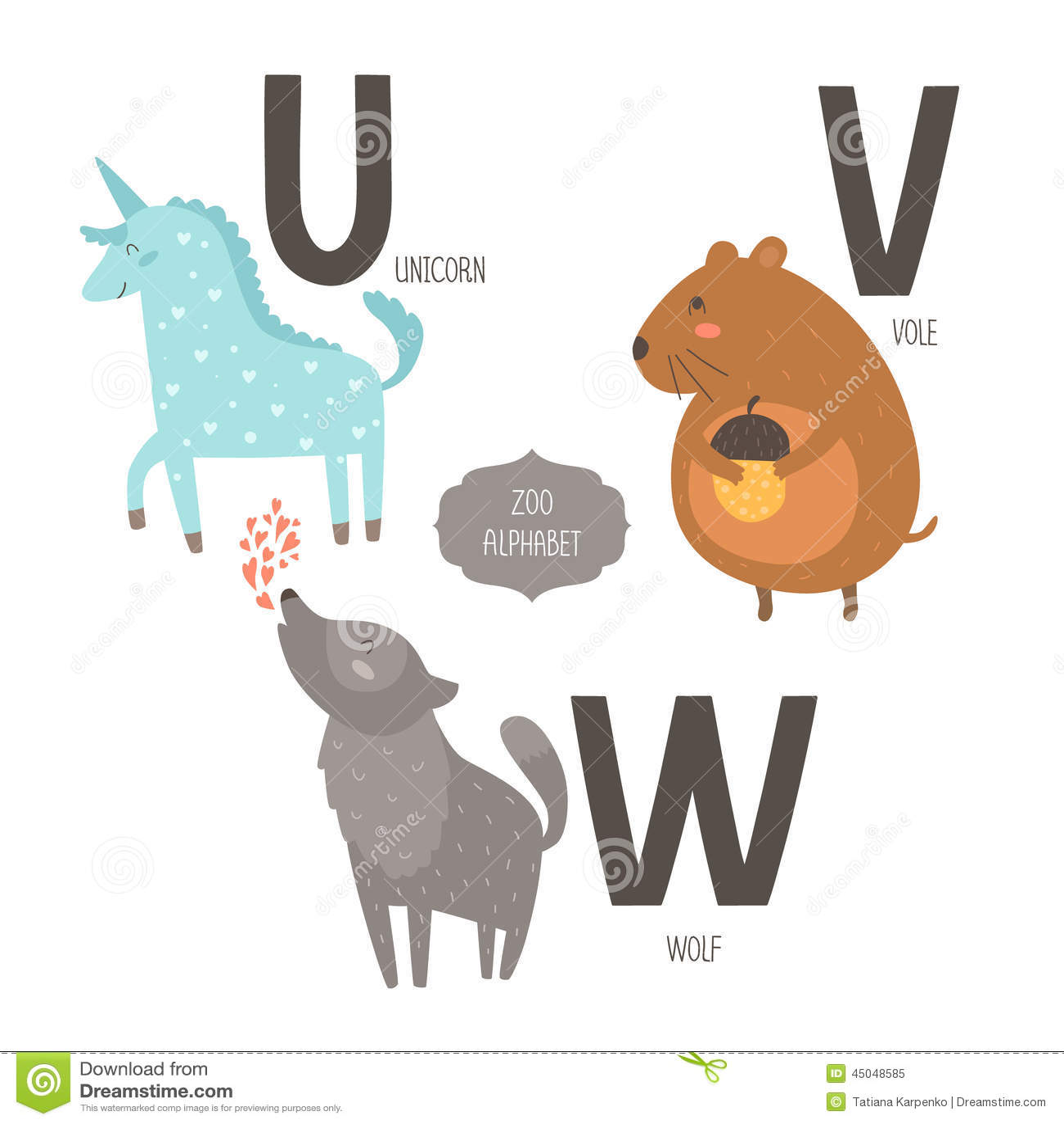 Animal Name That Starts With Letter V