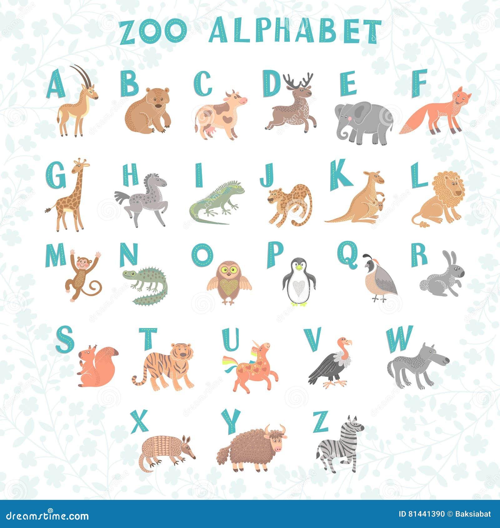Learn A to Z alphabets with animals. Alphabet puzz