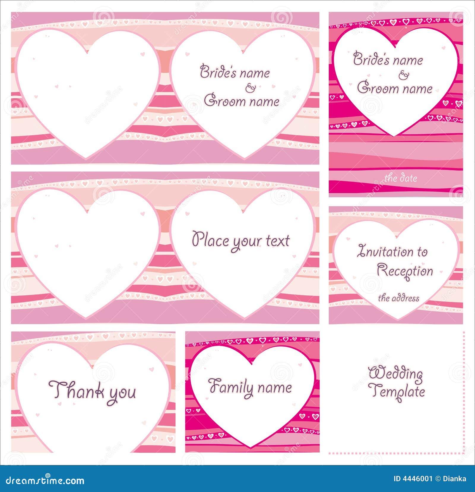 cute wedding templates stock illustration illustration of love