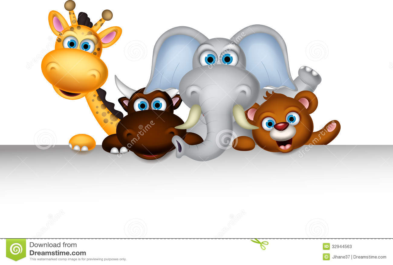Cute Wild Animal Clipart | Info