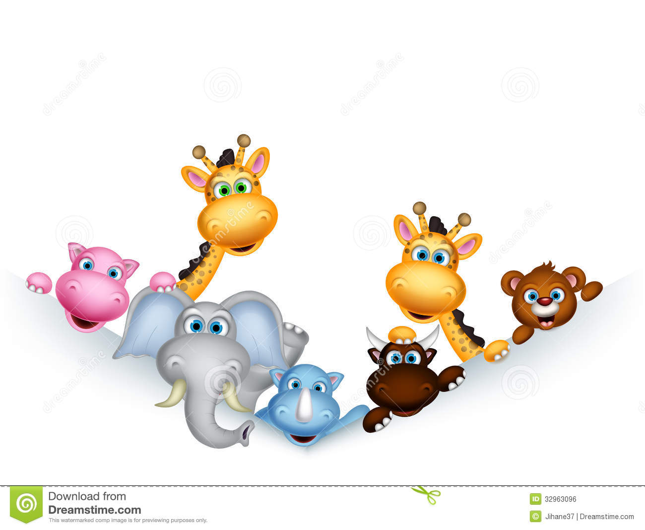 Female Animal Cartoon Characters  Wiring Diagram Pdf Free
