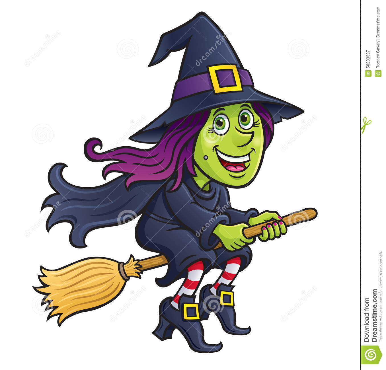 Cartoon Characters With Purple Hair : Witch riding broom cartoon hot girls wallpaper