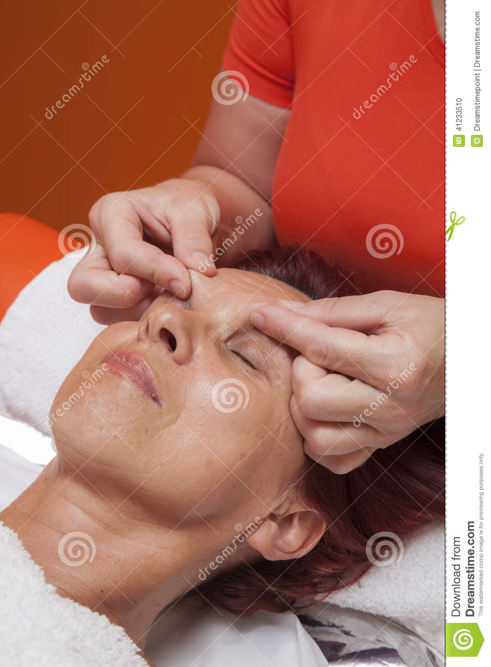 Massage Pro Gets Facial