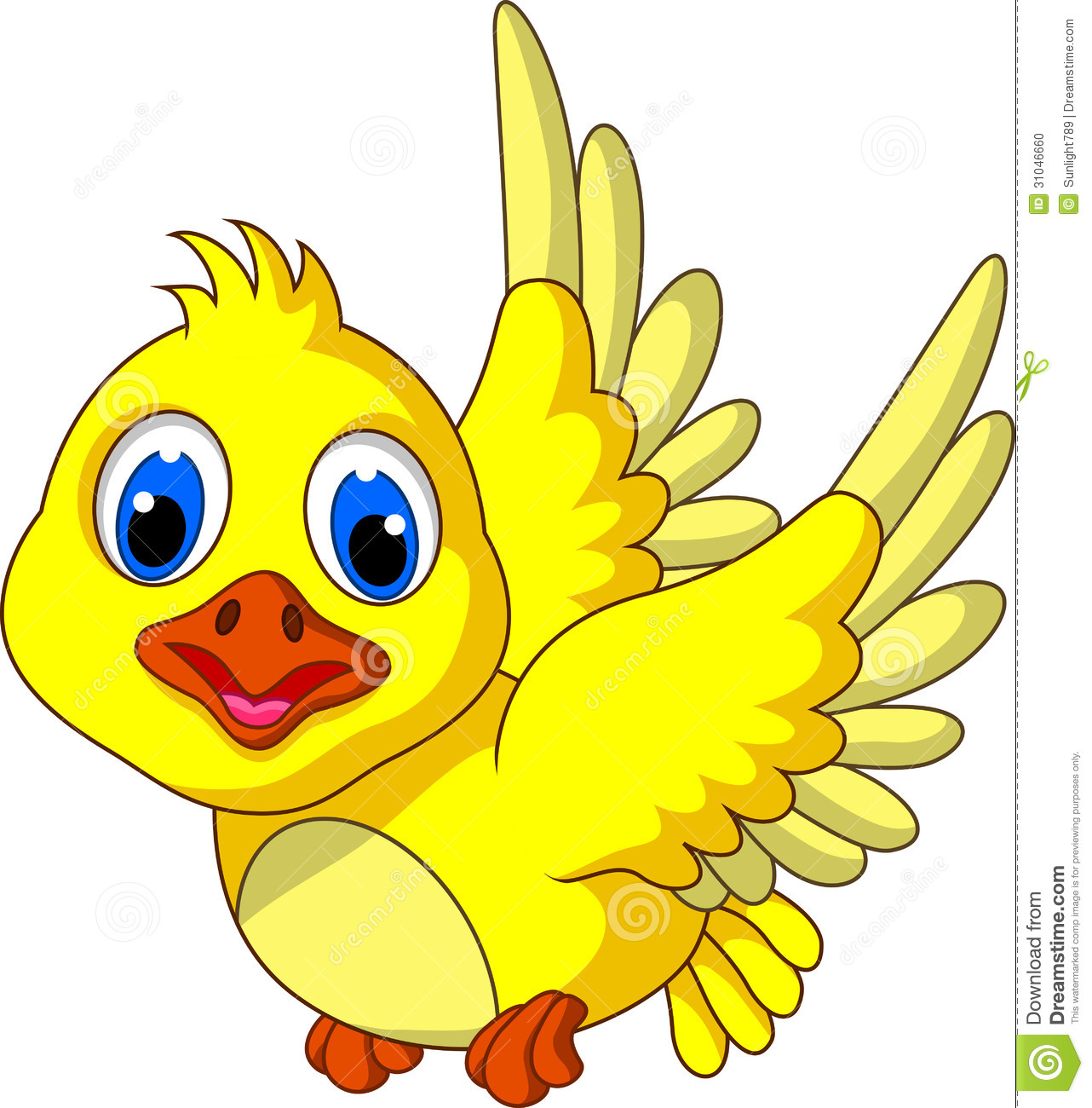 cute yellow bird cartoon flying stock illustration birds flying clipart flying bird clipart png