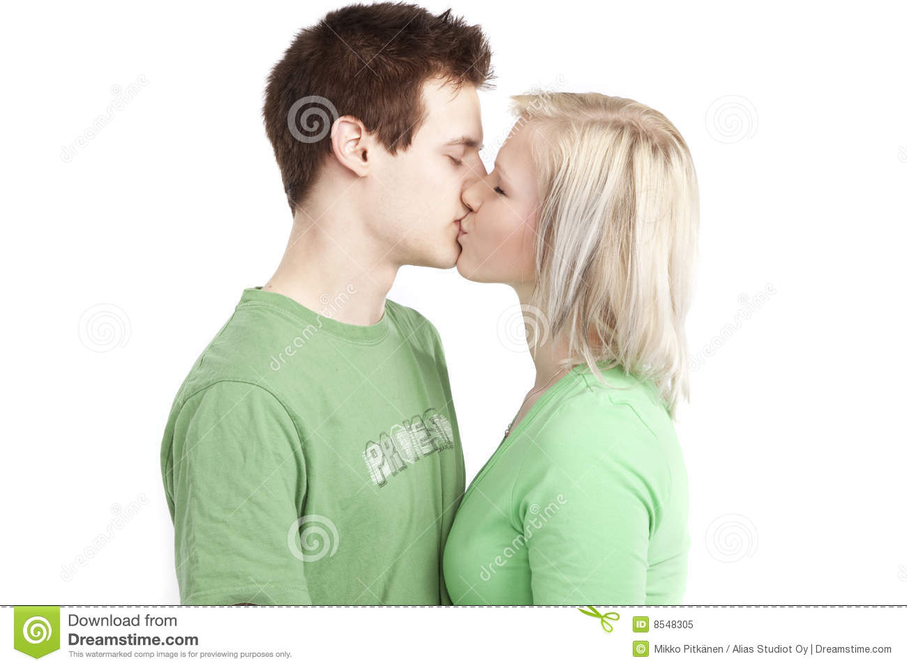Cute young couple