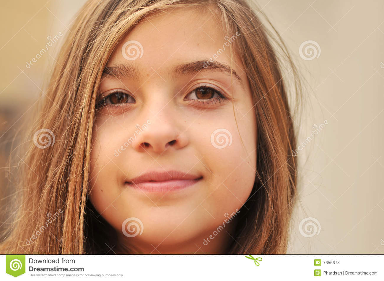 Cute young girls face stock photos image 7656673 Cute teenage girls pics