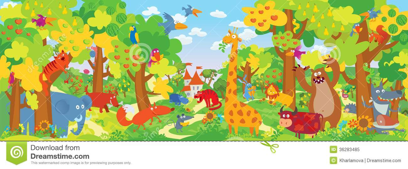cute zoo animals stock vector illustration of cute