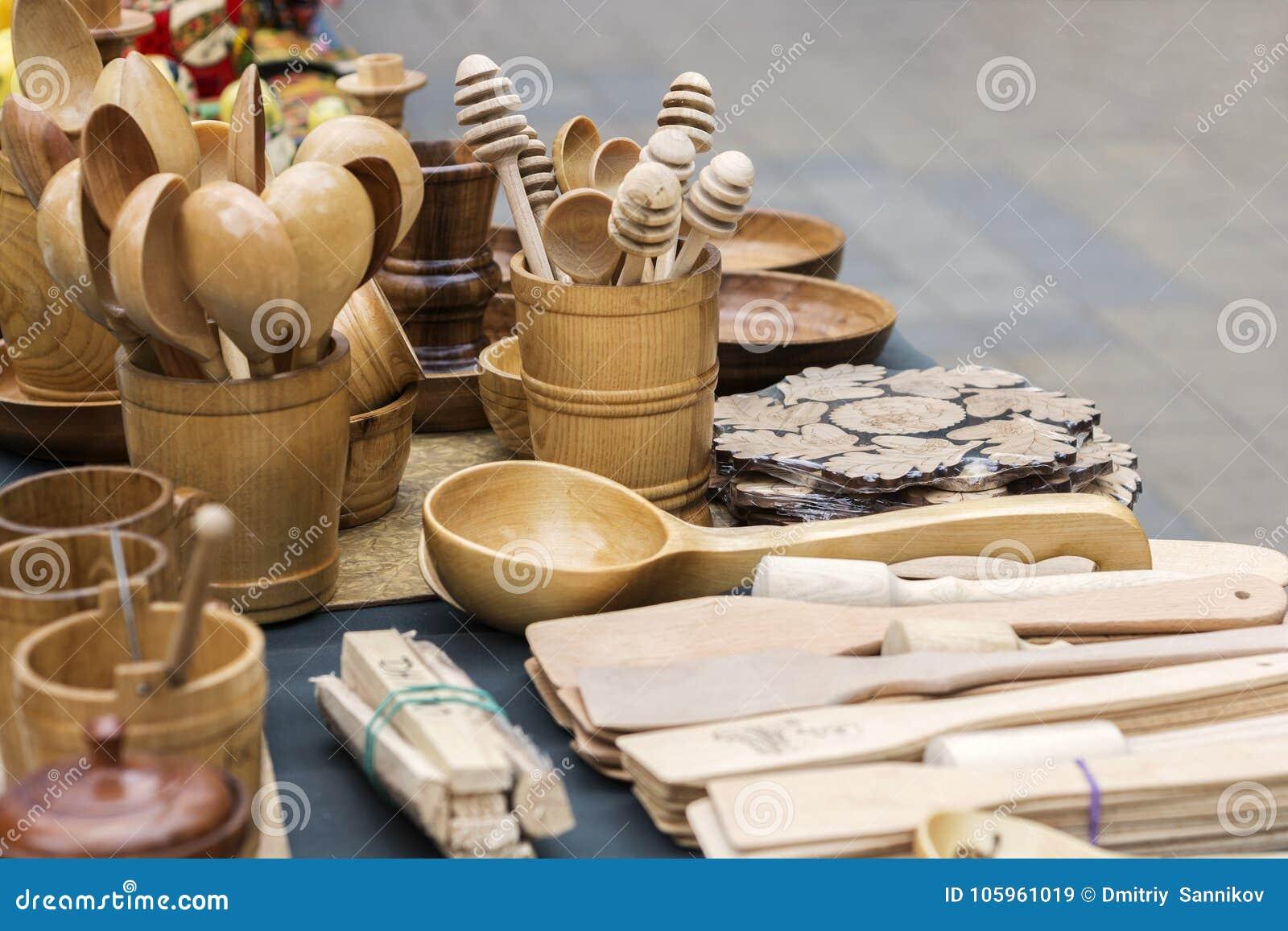 Cutlery drewno